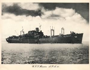 The USS Henrico